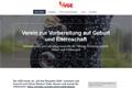 Screenshot von elternwerden.at