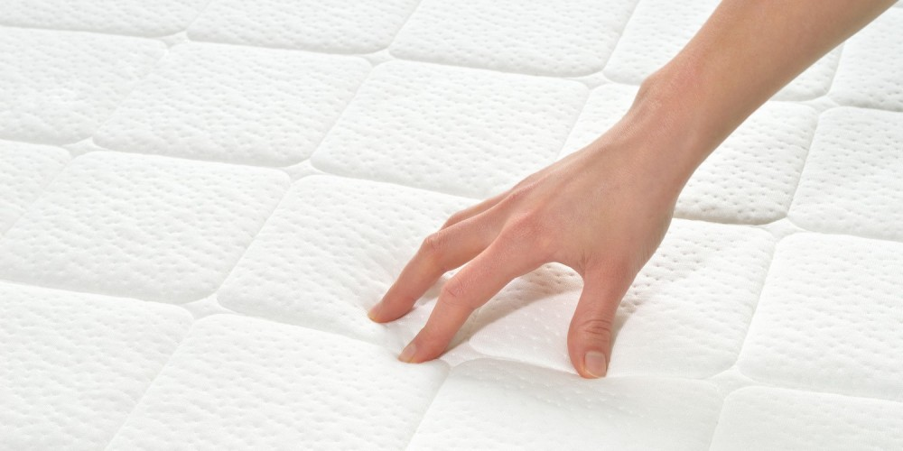Weiße Matratze