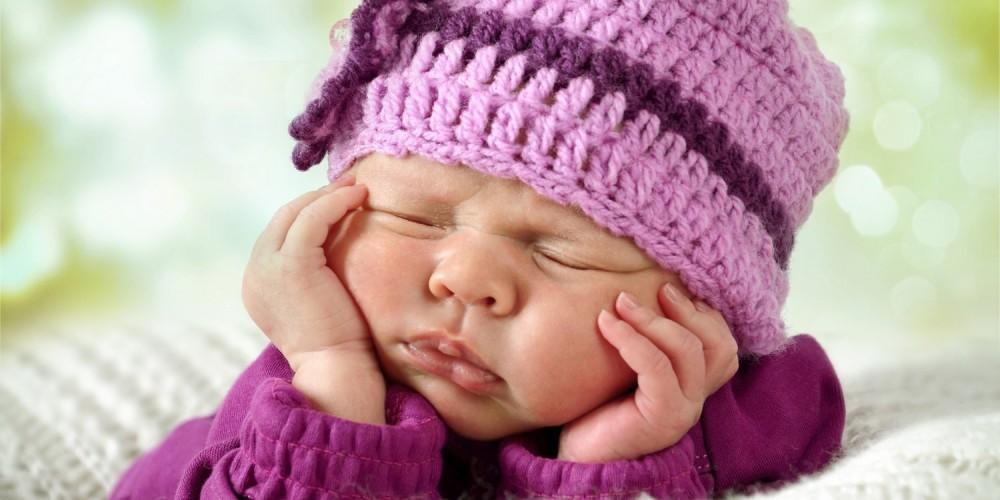 Süßes Babyfoto