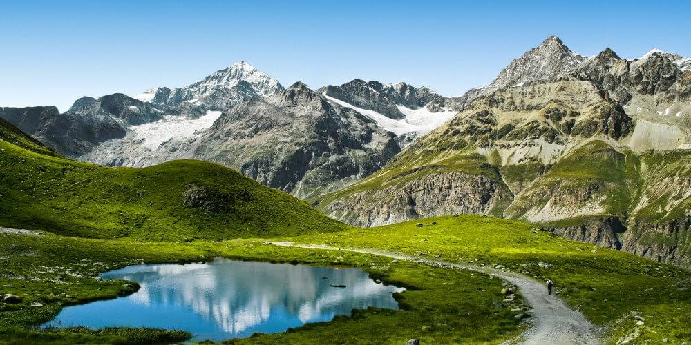 Wundervolle Berglandschaft
