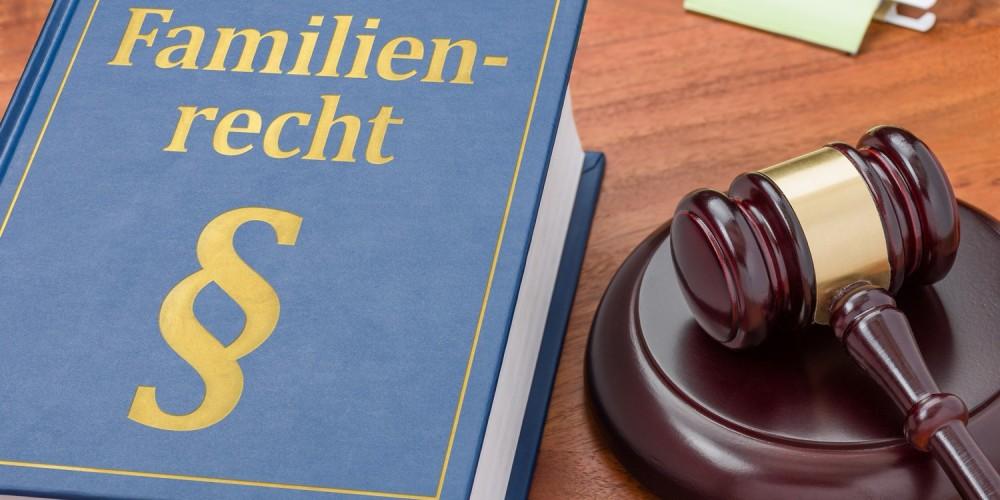 Buch zum Familienrecht