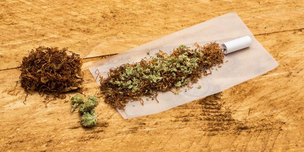 Tabak und Cannabis