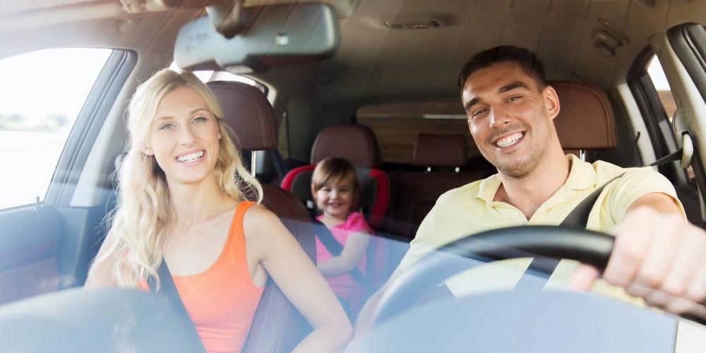 Familienurlaub mit dem Auto