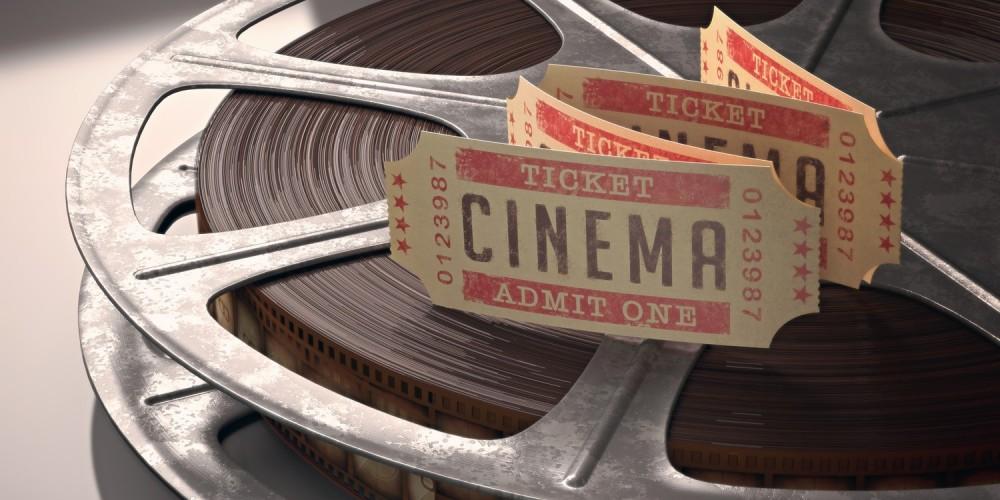 Kinokarten auf Filmrolle