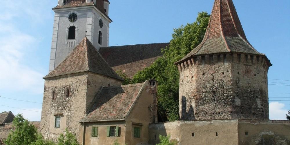 Alte mittelalterlische Burg