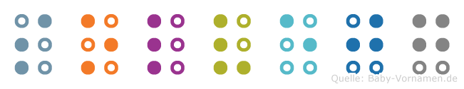 Solvejg in Blindenschrift (Brailleschrift)