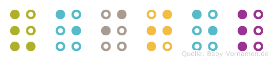 Veitel in Blindenschrift (Brailleschrift)