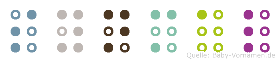 Synmal in Blindenschrift (Brailleschrift)