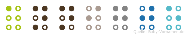 Annigje in Blindenschrift (Brailleschrift)