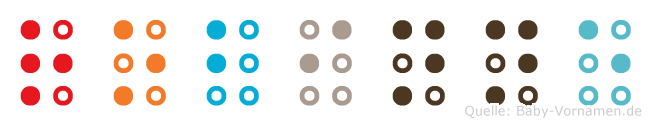 Robinne in Blindenschrift (Brailleschrift)