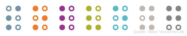 Solveyg in Blindenschrift (Brailleschrift)