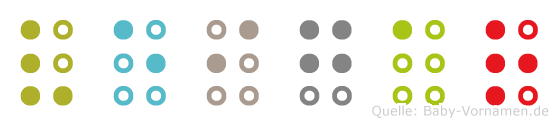 Veigar in Blindenschrift (Brailleschrift)