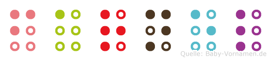 Farnel in Blindenschrift (Brailleschrift)