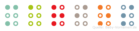 Marios in Blindenschrift (Brailleschrift)