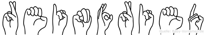 Reinfried in Fingersprache für Gehörlose