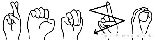 Renzo in Fingersprache für Gehörlose