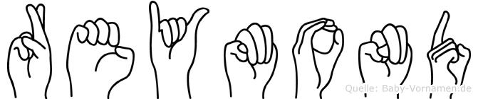 Reymond in Fingersprache für Gehörlose
