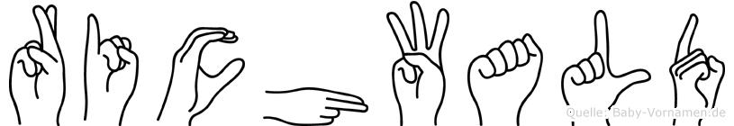 Richwald in Fingersprache für Gehörlose