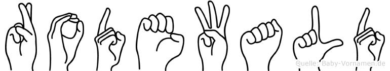 Rodewald in Fingersprache für Gehörlose