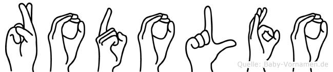 Rodolfo in Fingersprache für Gehörlose