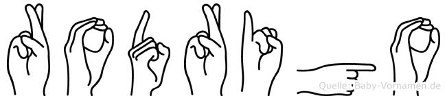 Rodrigo in Fingersprache für Gehörlose