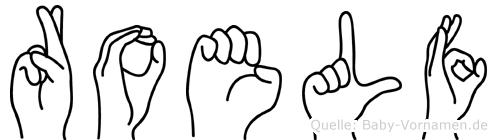 Roelf in Fingersprache für Gehörlose