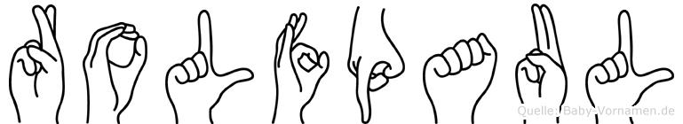 Rolfpaul in Fingersprache für Gehörlose