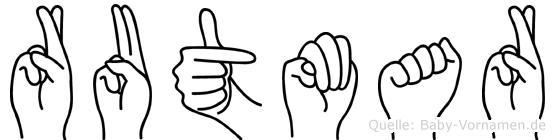 Rutmar in Fingersprache für Gehörlose