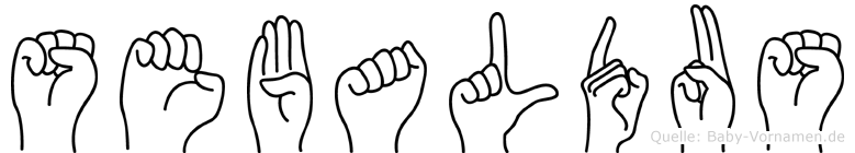 Sebaldus in Fingersprache für Gehörlose