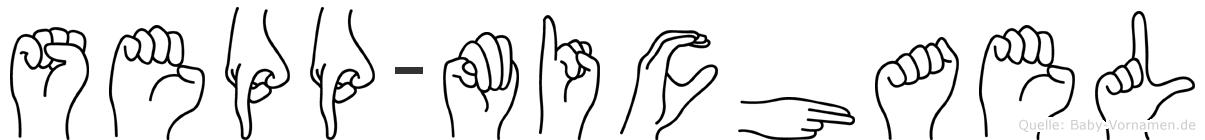 Sepp-Michael im Fingeralphabet der Deutschen Gebärdensprache