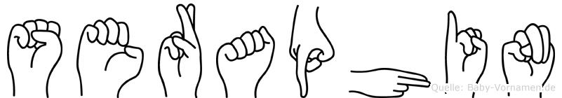 Seraphin in Fingersprache für Gehörlose