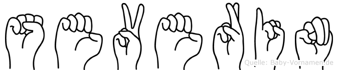 Severin in Fingersprache für Gehörlose
