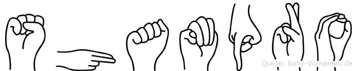 Shampro in Fingersprache für Gehörlose