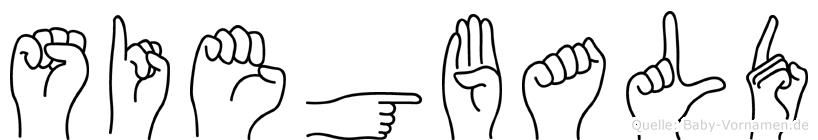 Siegbald in Fingersprache für Gehörlose
