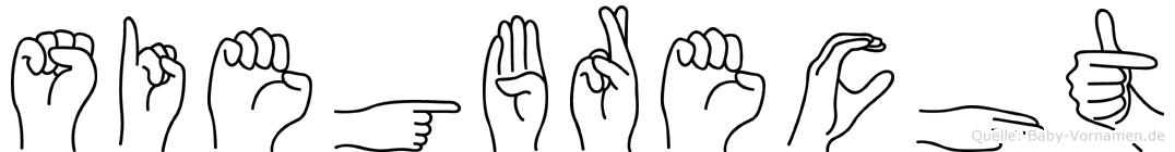 Siegbrecht in Fingersprache für Gehörlose