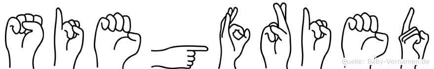 Siegfried in Fingersprache für Gehörlose
