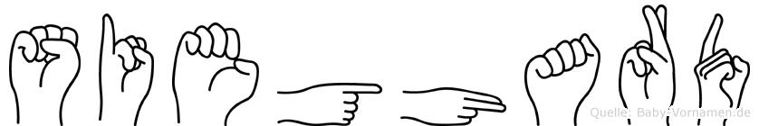 Sieghard in Fingersprache für Gehörlose