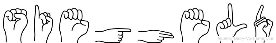 Siegheld in Fingersprache für Gehörlose