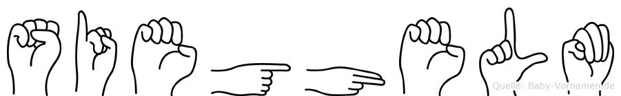 Sieghelm in Fingersprache für Gehörlose