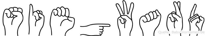 Siegward in Fingersprache für Gehörlose