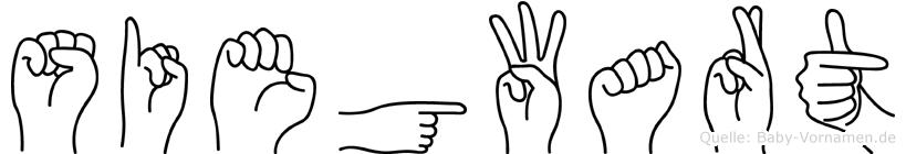 Siegwart in Fingersprache für Gehörlose
