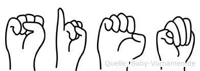 Siem in Fingersprache für Gehörlose