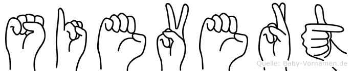 Sievert in Fingersprache für Gehörlose