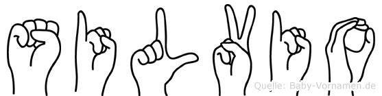 Silvio in Fingersprache für Gehörlose