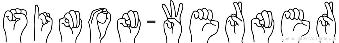 Simon-Werner im Fingeralphabet der Deutschen Gebärdensprache