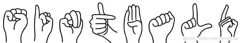 Sintbald in Fingersprache für Gehörlose