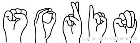 Sorin in Fingersprache für Gehörlose