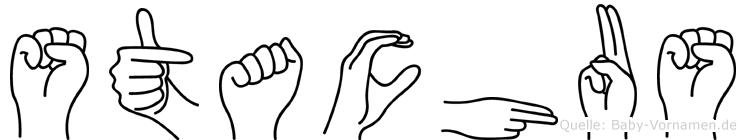 Stachus im Fingeralphabet der Deutschen Gebärdensprache