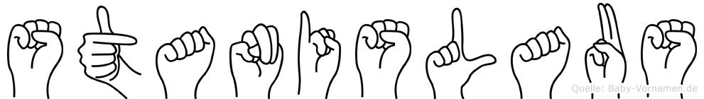 Stanislaus in Fingersprache für Gehörlose