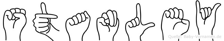 Stanley in Fingersprache für Gehörlose